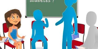 Dulces docentes, cuando la diabetes entra al aula.