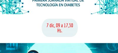 Invitación a la Primera Jornada Virtual de Tecnología en Diabetes SAD